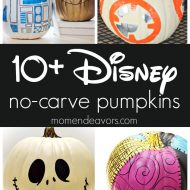10+ Best No-Carve Disney Pumpkins