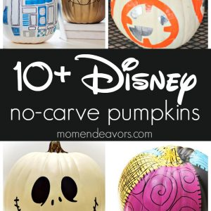 Best Disney No Carve Pumpkins