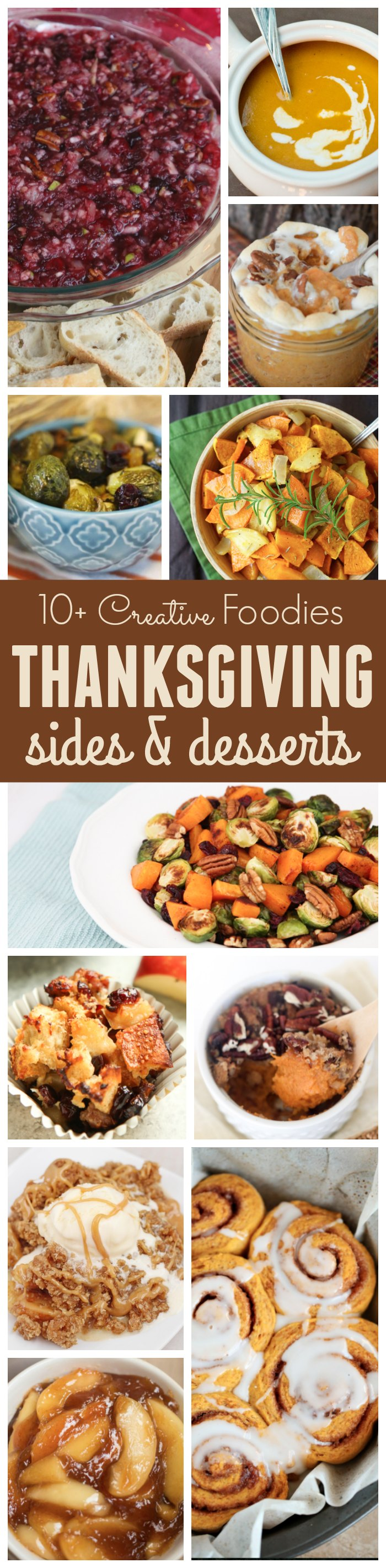 10+ Thanksgiving Sides & Desserts