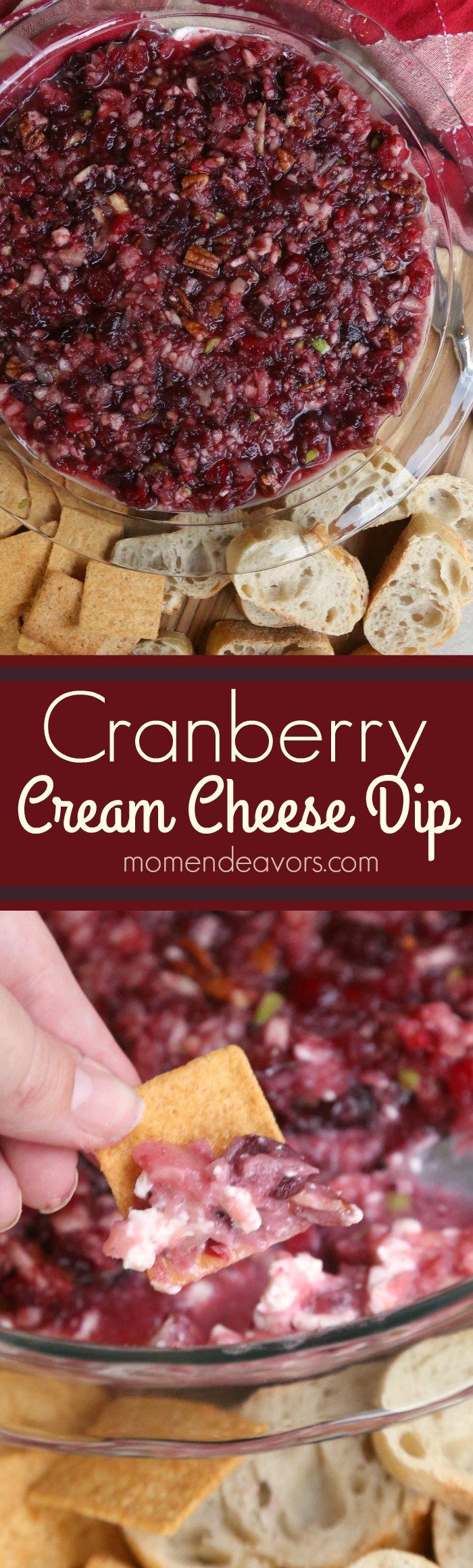 Cranberry Cream Cheese Dip Recipe