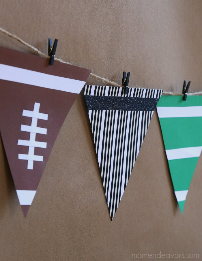 DIY Football Bunting