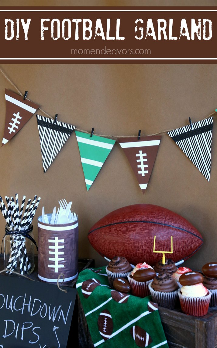 diy-football-garland