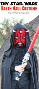 DIY Star Wars Darth Maul Costume