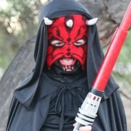 DIY Star Wars Darth Maul Costume
