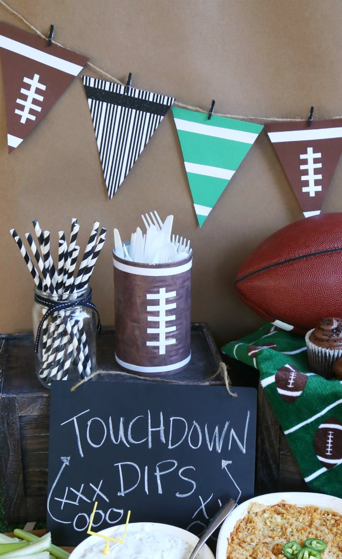 football-party-decor