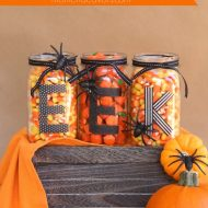 Easy DIY Halloween Mason Jars