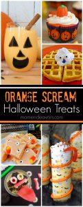 Orange Scream Halloween Treats