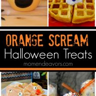 Orange Scream Halloween Treats