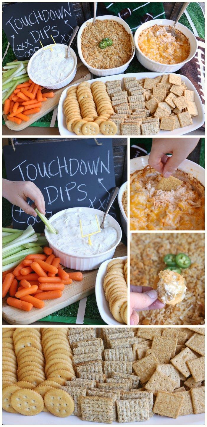 touchdown-dips-football-party-ideas