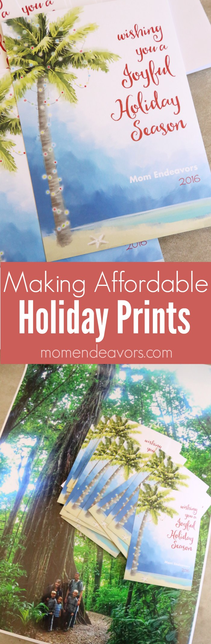 Making Affordable Holiday Prints