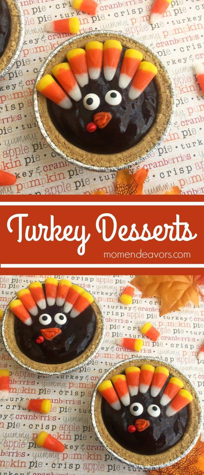 cute & easy turkey dessert