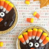 Cute Turkey Chocolate Pies