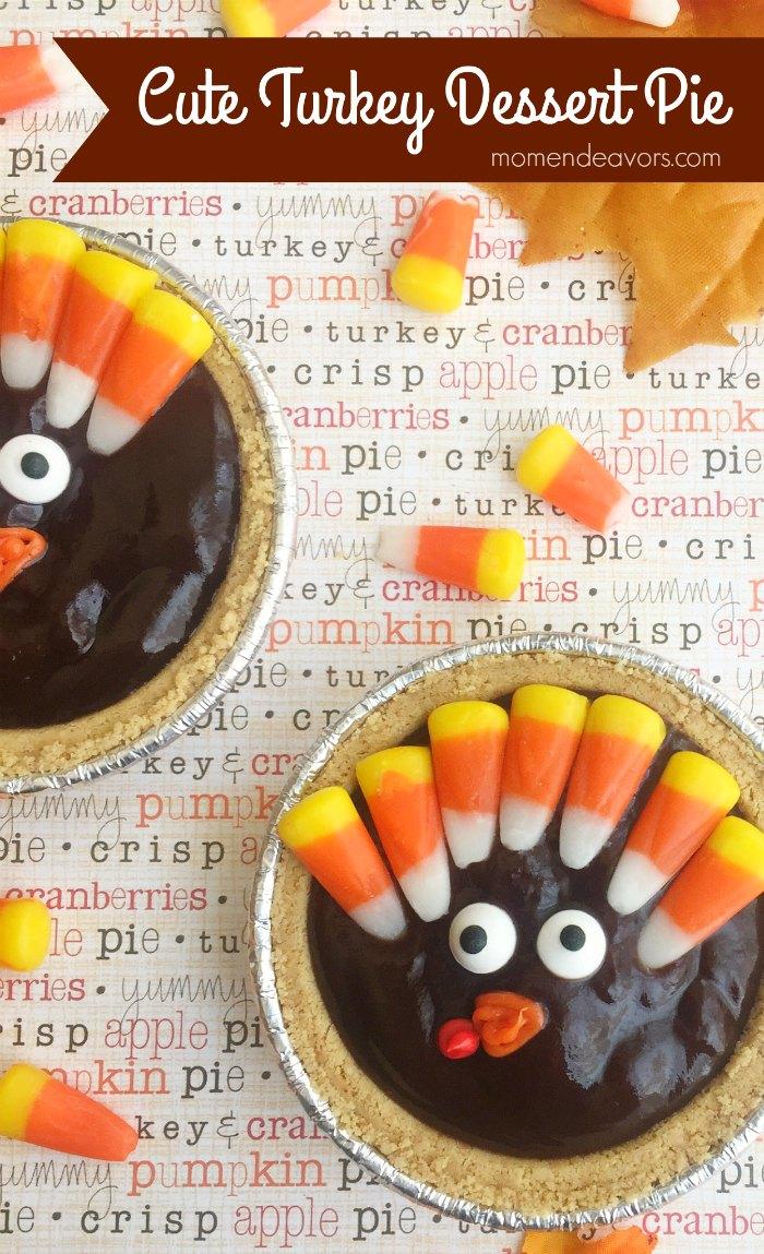 Cute Turkey Dessert Pie