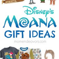 Disney's MOANA Gift Ideas