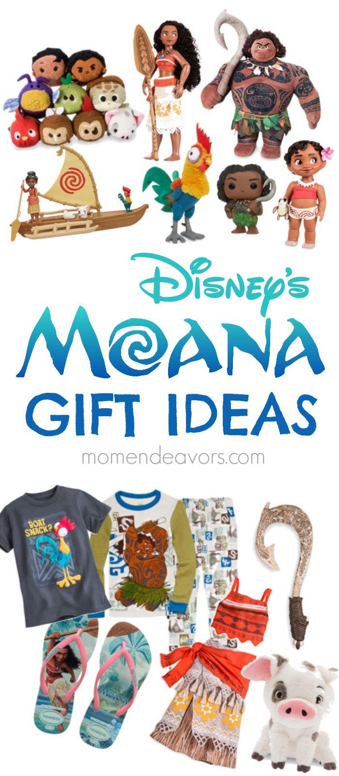 Disney's MOANA Gift Ideas