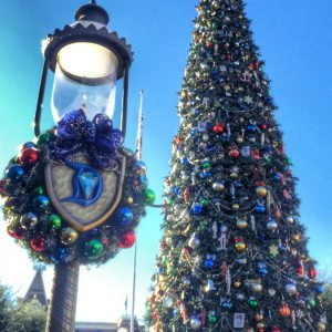 Disneyland Christmas Tree