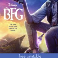 Disney's The BFG Coloring Pages & Activities