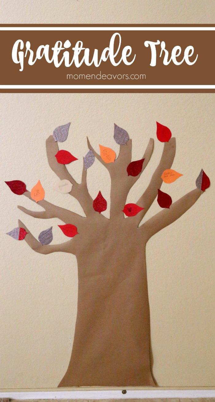 Family Gratitude Tree