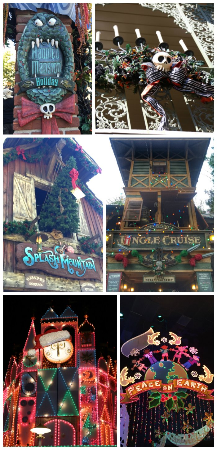 Holiday Rides at Disneyland
