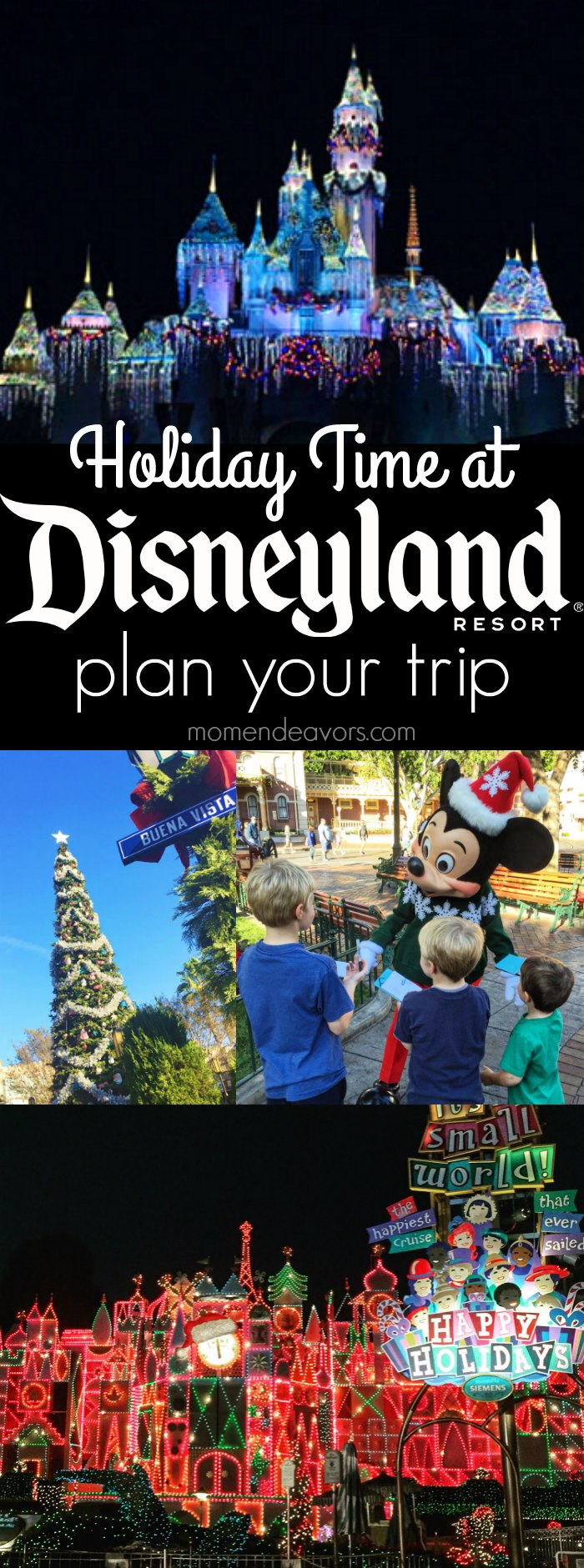 Holidays at Disneyland Resort Guide