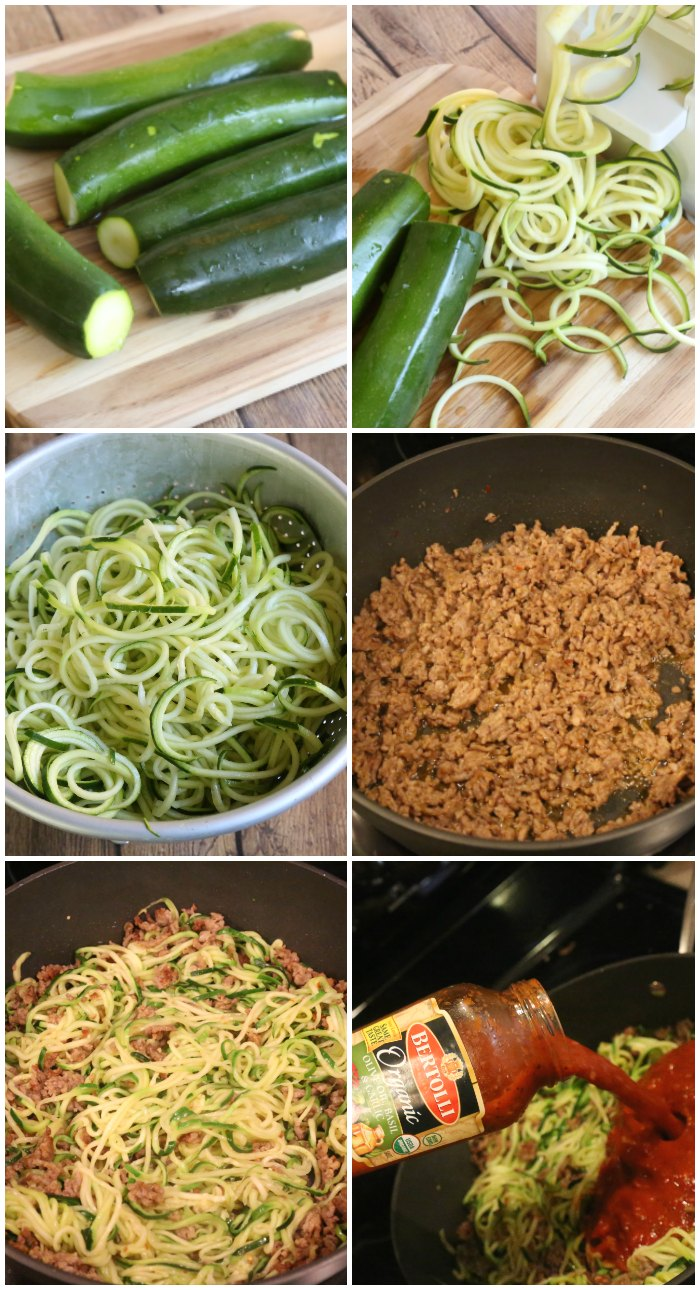 Making Zoodles