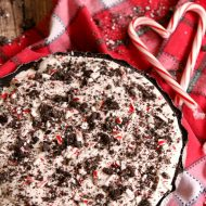 No-Bake Peppermint Mocha Pie
