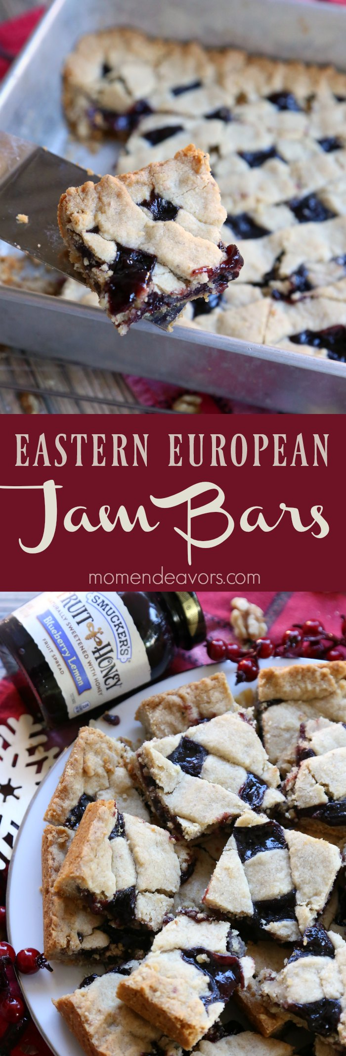 Traditional European Jam Pastry Bars