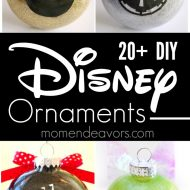 20+ BEST DIY Disney Ornaments