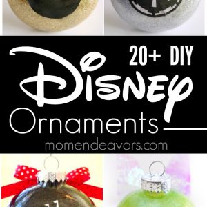 Best DIY Disney Ornaments