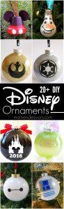 Best DIY Disney Ornaments