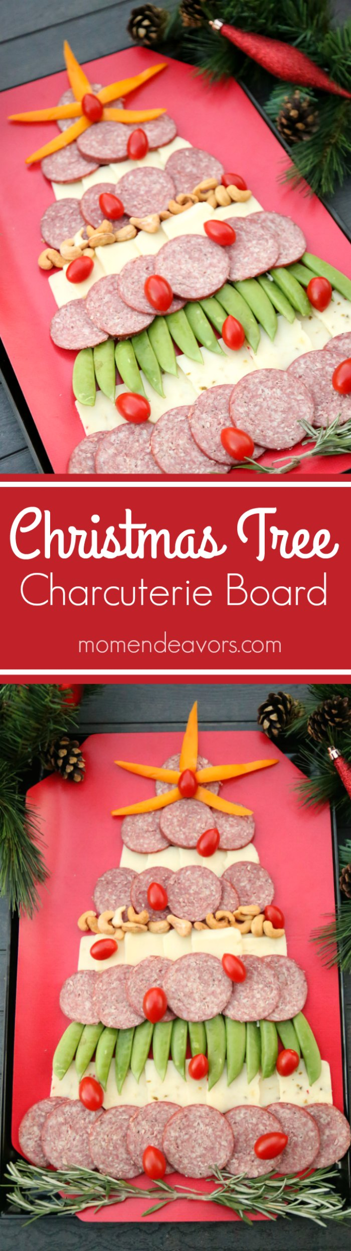 Easy Christmas Tree Meat Amp Cheese Board