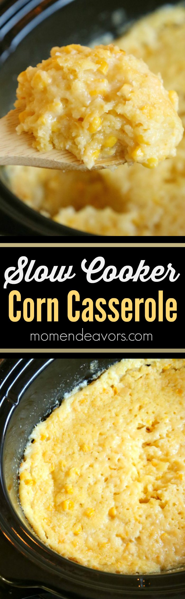 Chicken Casserole Recipe. Here is a pro tip on this chicken and corn casserole recipe: The NIGHT before, place all the ingredients in the slow cooker bowl, cover, and store in the refrigerator.