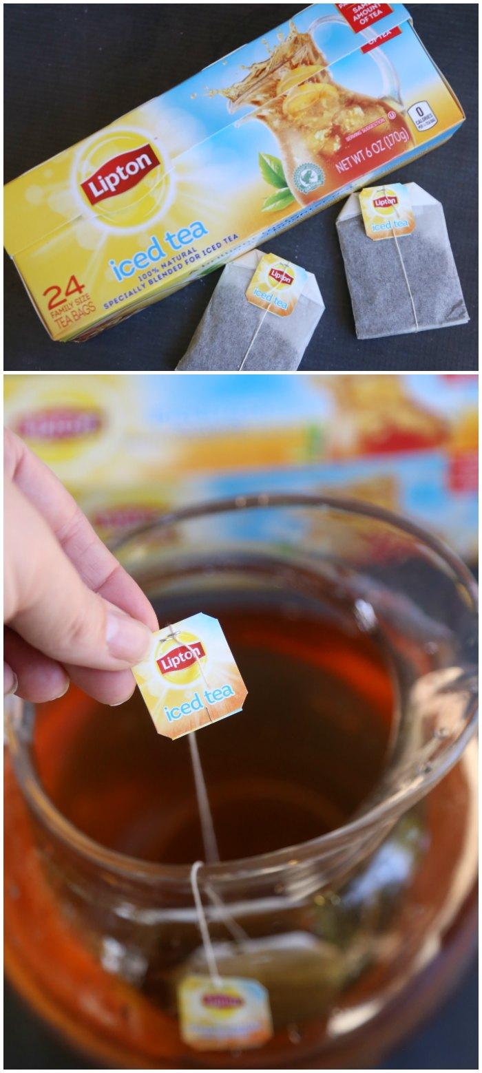 Sparkling Apple Cranberry Iced Tea