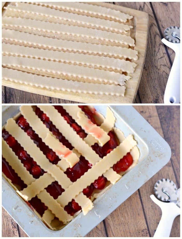 making slab pie