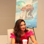 Disney's MOANA Interview with Nicole Scherzinger