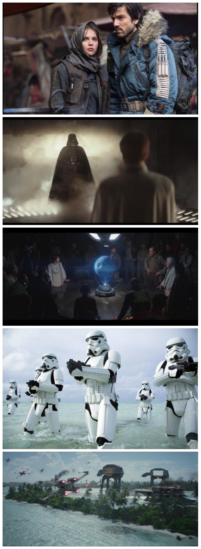 Rogue One Scenes
