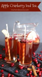 Sparkling Apple Cranberry Iced Tea