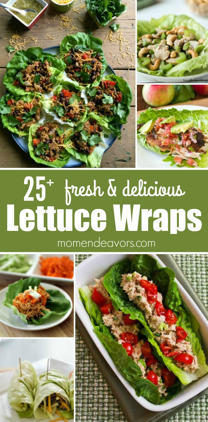 25+ Lettuce Wrap Recipes