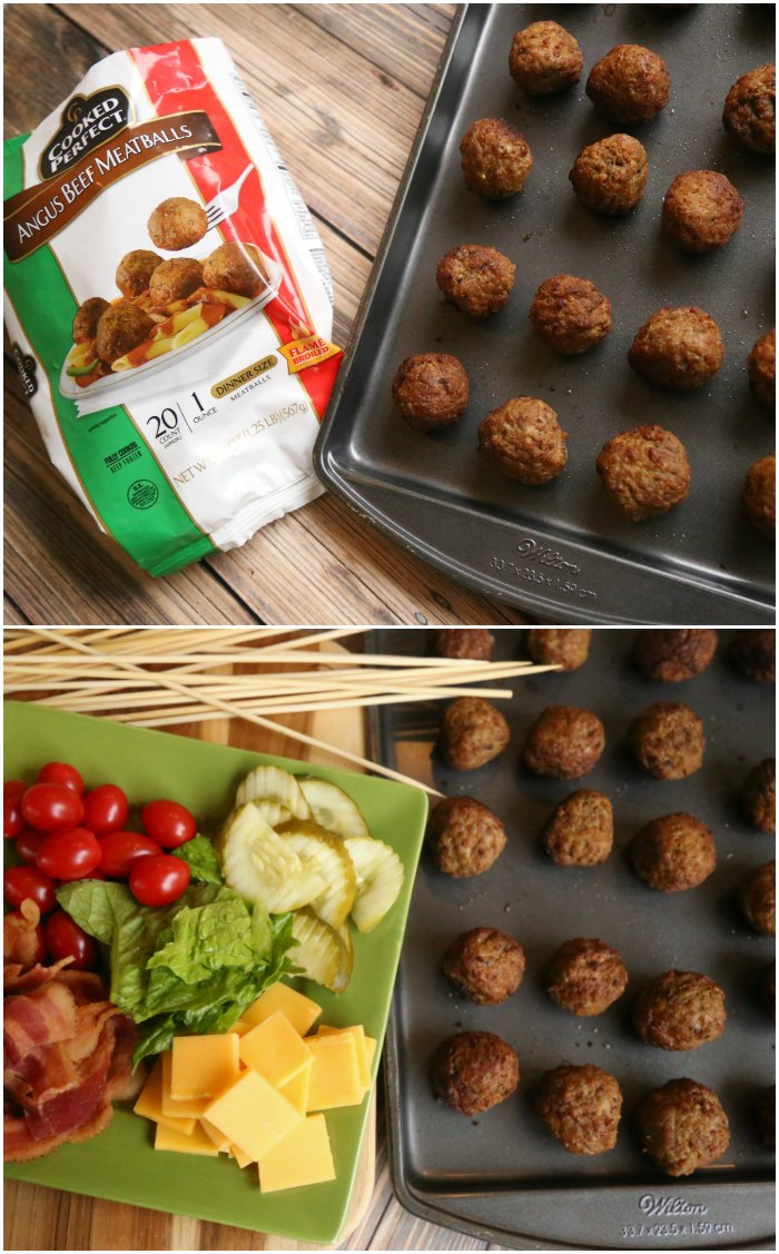 Cooked Perfect Angus Beef Meatballs