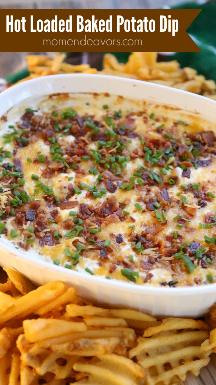 Hot Loaded Baked Potato Dip