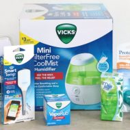 Cold & Flu Season Winter Wellness Care {Vicks Care Package Giveaway}