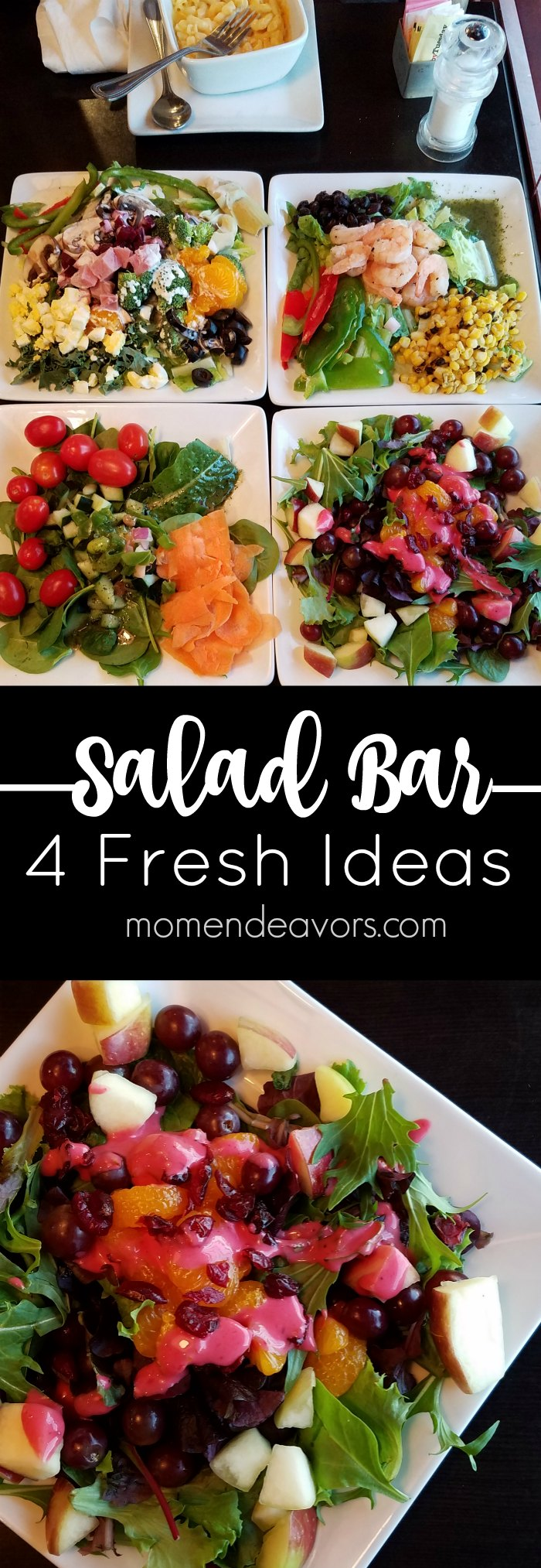 Four fresh tasty salad ideas ruby tuesday gift card for Salas ideas