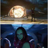 Zoe Saldana (Gamora) Interview on Set of Guardians of the Galaxy Vol. 2