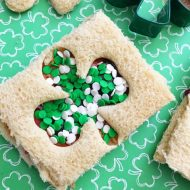 St. Patrick's Day Shamrock Sandwiches