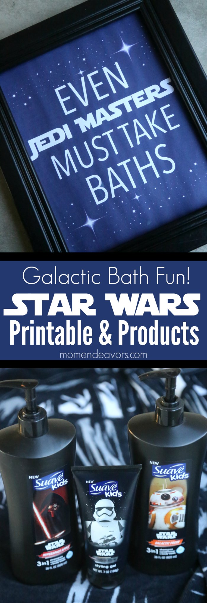 Bath Time in a Galaxy Far Far Away