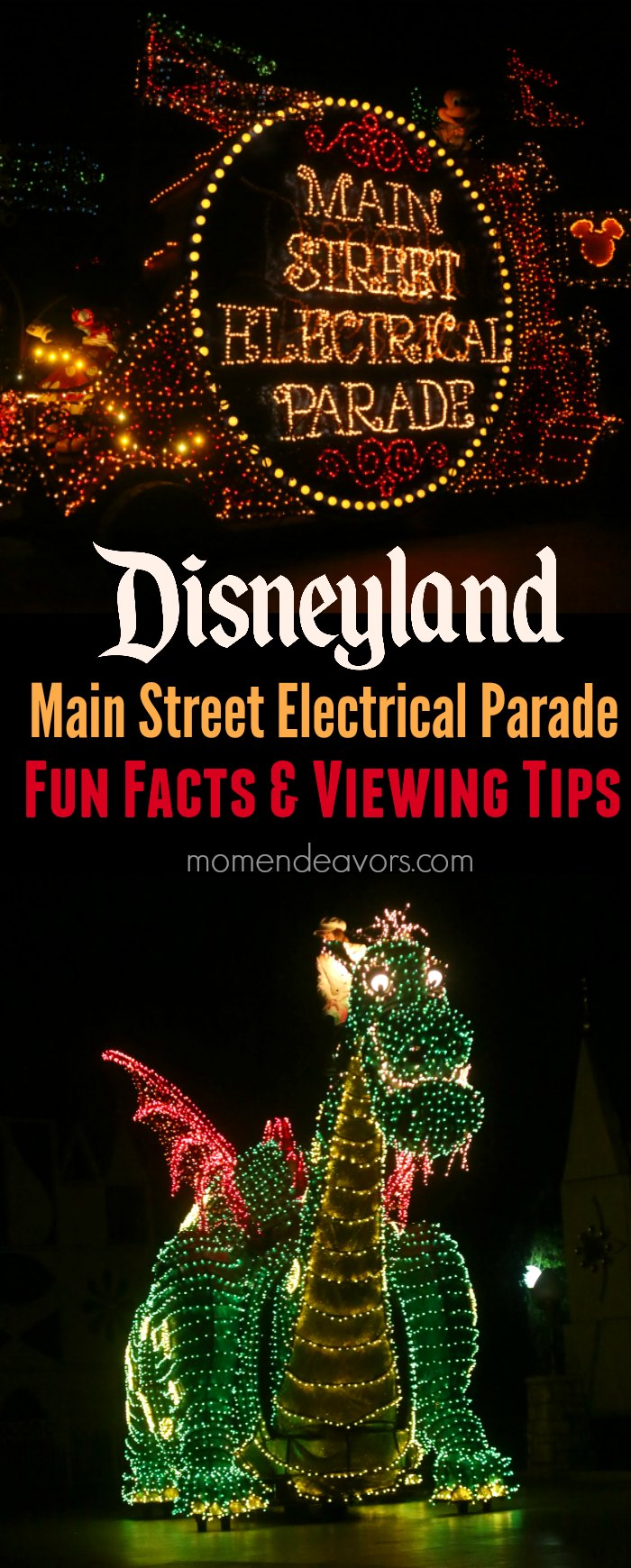 disneyland main street electrical parade fun facts viewing tips