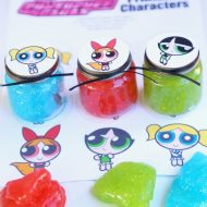 Powerpuff Girls Party Favor – DIY Glitter Slime
