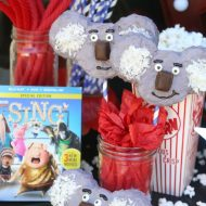 SING Movie Night – DIY Koala Krispy Treats