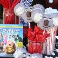 SING Movie Night – DIY Koala Krispy Treats