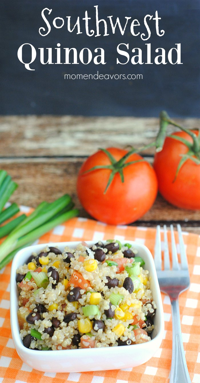... dish or light meal idea, this Southwest Quinoa Salad is a good choice